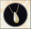 Tear Drop Keepsake Necklace Urn in Sterling Silver, Gold Vermeil or 14K Gold