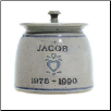Personalized Pottery Heart Pet Urn