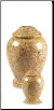 Modern Fossil Marble Urn