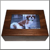 Wooden Photo Pet Urn