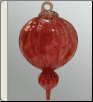 Hand Blown Glass Ornament Keepsake Urn & Memorial