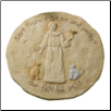 St. Francis Dog and Cat Pet Memorial Garden Stepping Stone