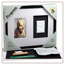 Pawprint Wall Mounted Frame by Pearhead