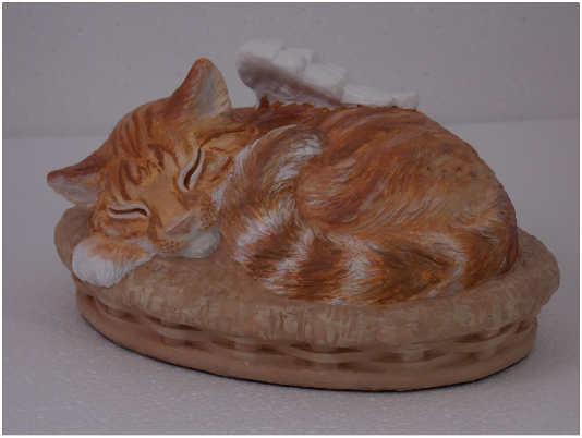 Urn for cat
