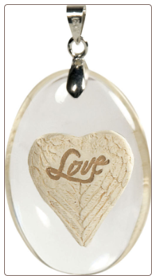 Love Memorial Pendant from Angel Star