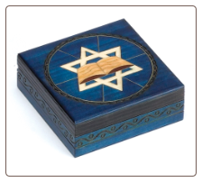 Star of David Wooden Box