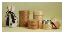 Handcrafted Cherry or Maple Wood Urns
