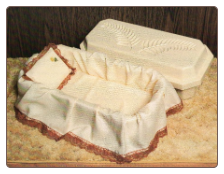 "Deluxe Memorial Pet Caskets - 24"", 32"" & 40"""