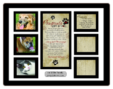 Pawprints Collage Frame