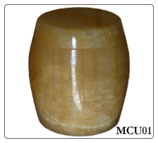 Golden Marble Pet Urn - Large