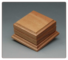 Small Wooden Keepsake or Sharing Pet Urn