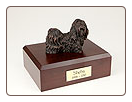 Shih Tzu Bronze Dog Breed Figurine Urn