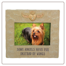 Pet Memorial Photo Frame - Some Angels Have Fur