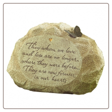 Peaceful Place Memory Garden Stone