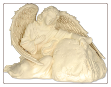 Heavenly Guardian Angel Pet Urn