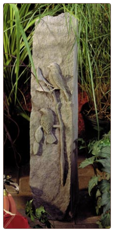 Song Bird Obelisk - Bird Garden Memorial