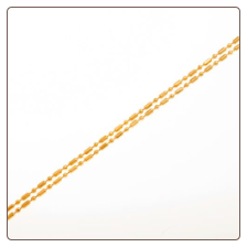 Chains - Bamboo - Silver or Gold