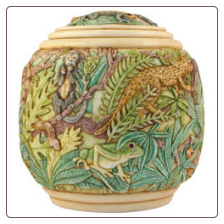 Magical Realism Keepsake Pet Urn by Jardinia Harmony Ball