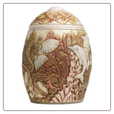 Mysteries of the Deep Keepsake Fish Urn by Jardinia Harmony Ball