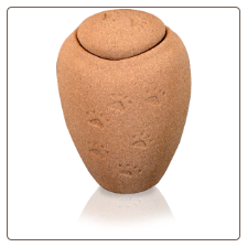 Biodegradable Sand Paw Print Pet Urns by Passages International
