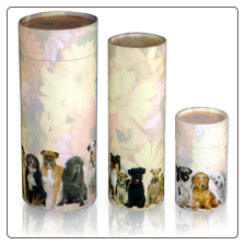 Dog Cremains Scattering Tubes by Passages