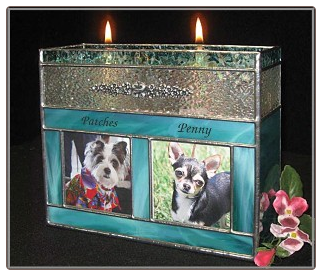 Pet Companion Urns Stained Glass