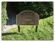 Rainbow Bridge Pet  Memorial Marker