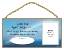 Cat - Gone But Never Forgotten Plaque