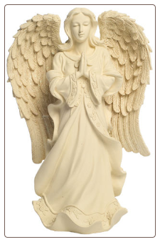 "12"" Serene Angel Pet Urn & Keepsake"