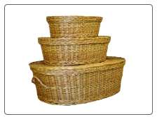 Eco Friendly Willow Pet Casket
