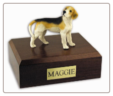 Dog Wooden Figurine Urns - All Breeds