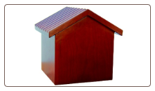 Dog House Pet Urn