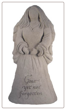 Angel Statue - Gone yet not forgotten.