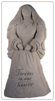 Angel Statue - Forever in our hearts